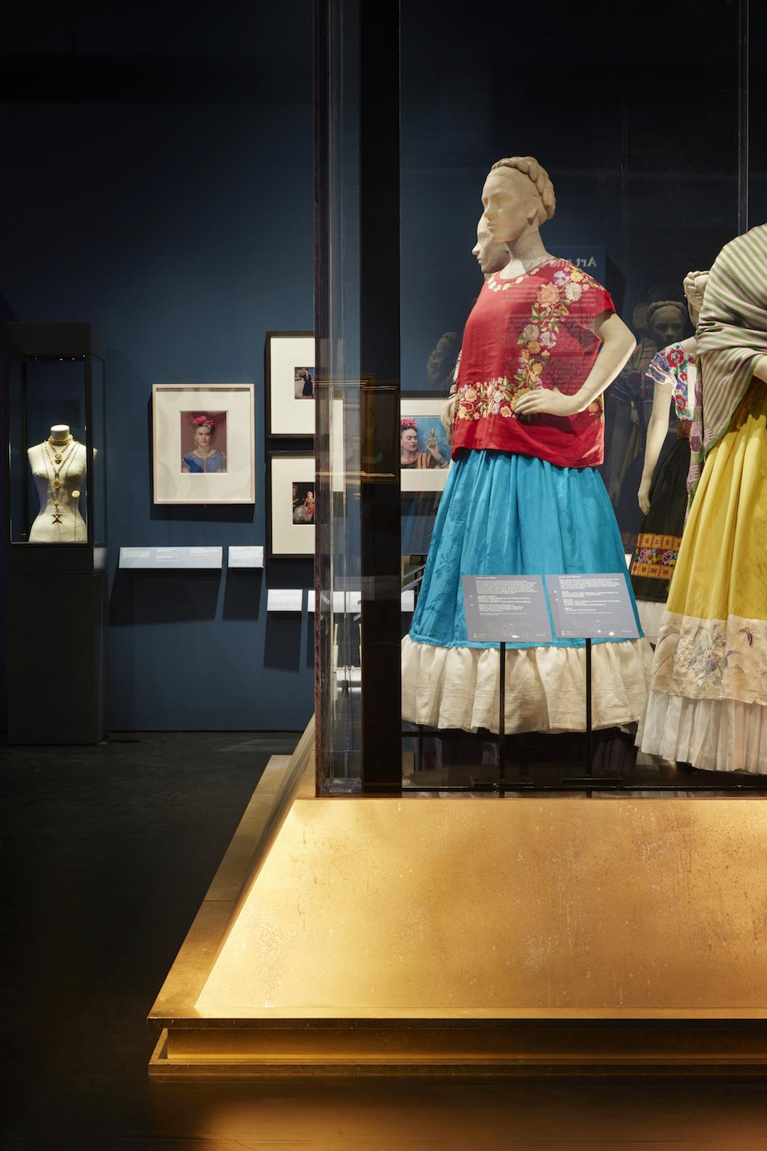 Frida Kahlo Exhibition Installation Photos Making Her Self Up