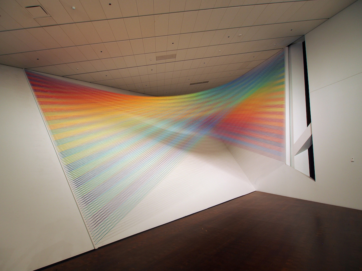 Site Specific Installation by Gabriel Dawe