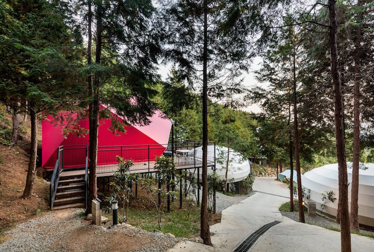 Camping Pods Provide Glamping Accommodation In South