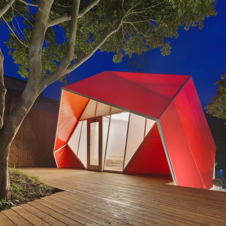 Glamping Camping Pods by Atelier Chang
