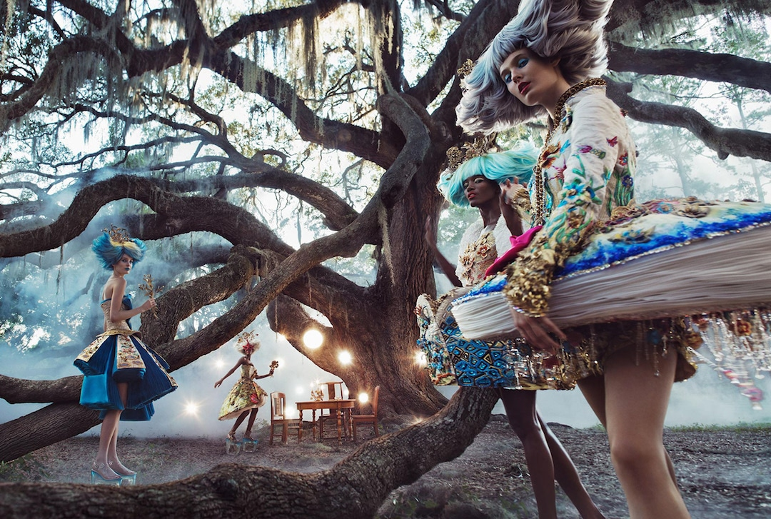 Fotografías de alta costura de Guo Pei por HOWL Collective