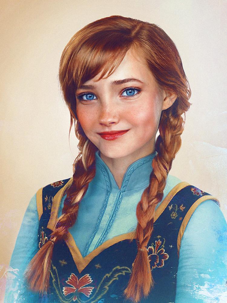 Disney Princesses in Real Life by Jirka Väätäinen