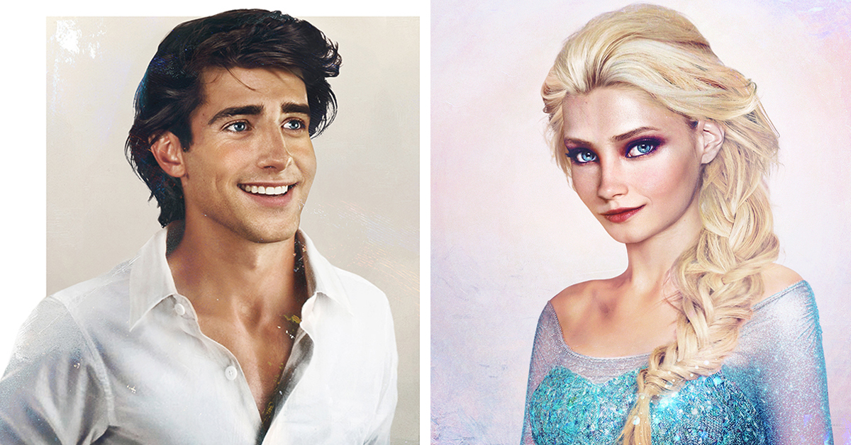 Artist Creates Real Life Disney Characters With Stunning Realism