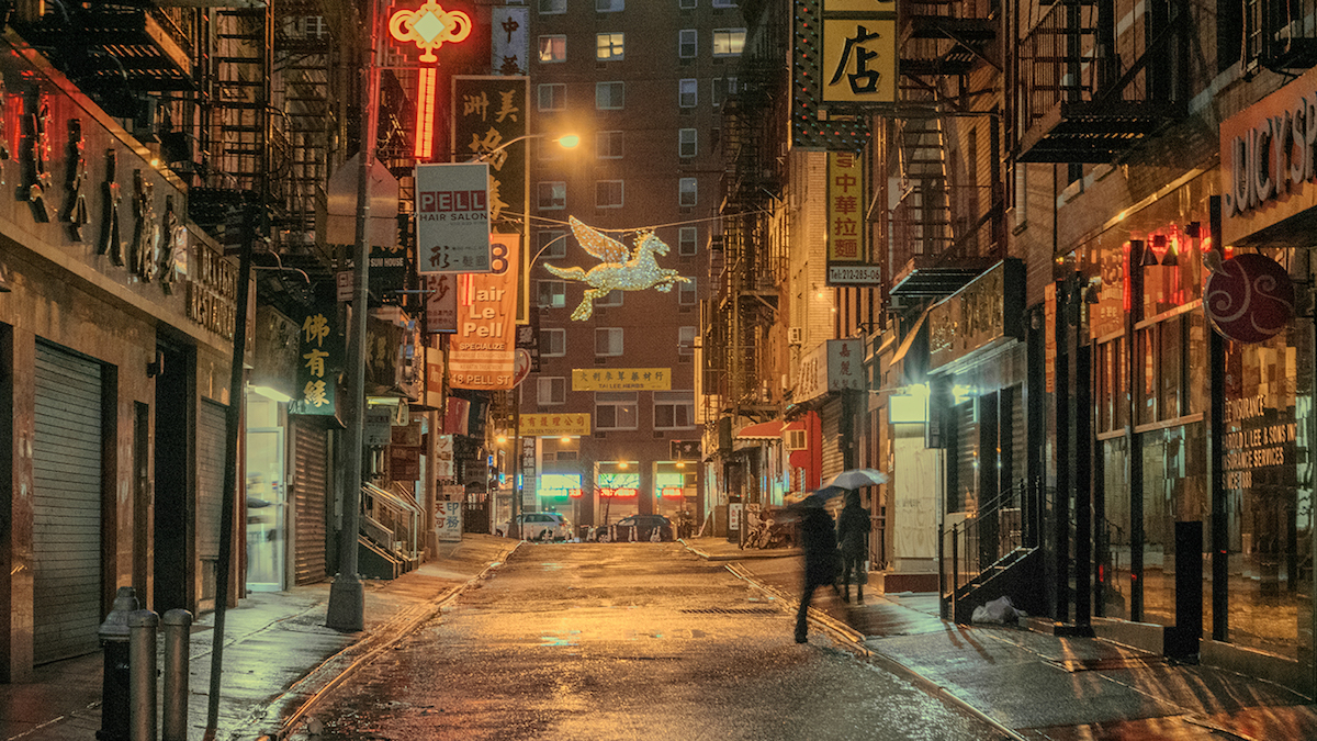 Photo of Chinatown at Night