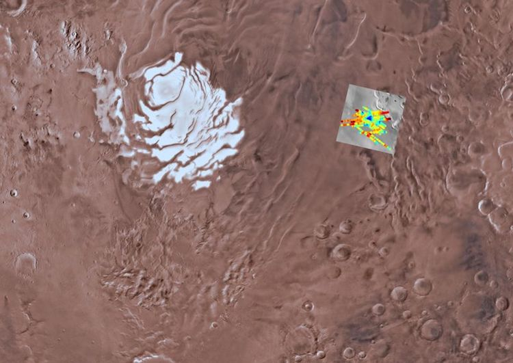 ESA Discovers Water on Mars