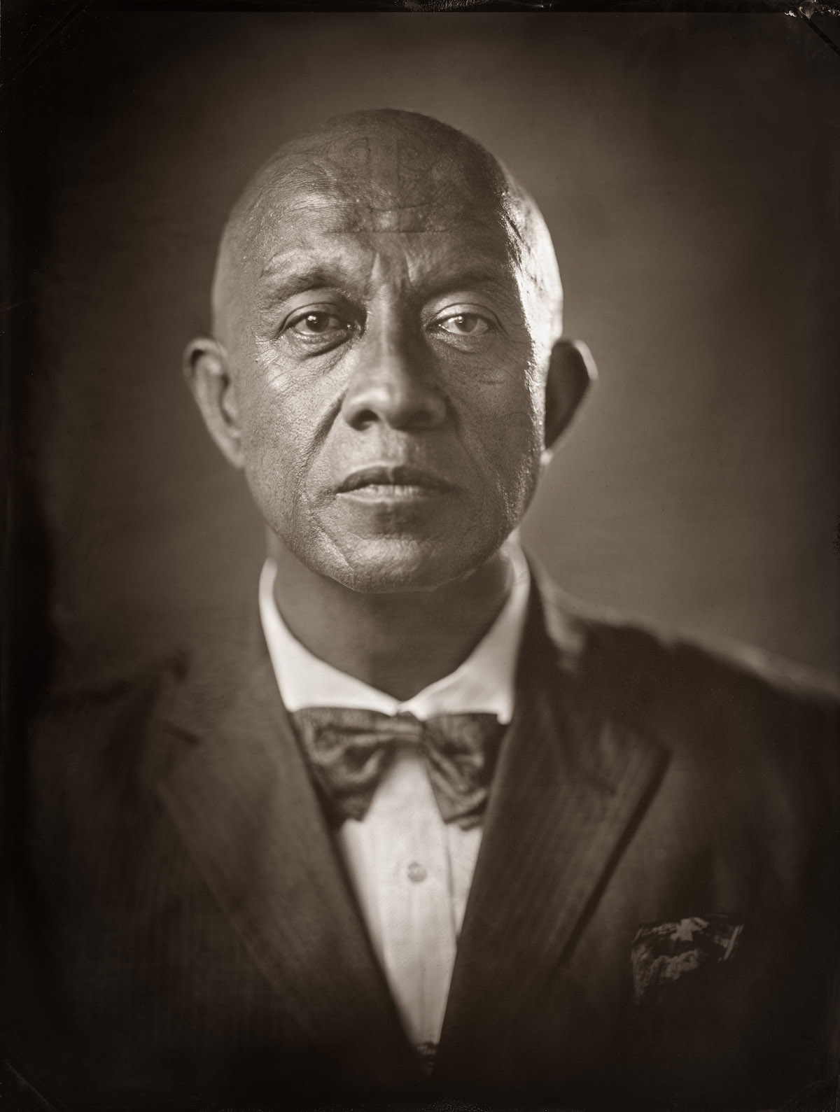 Wet plate portrait photography by Michael Bradley