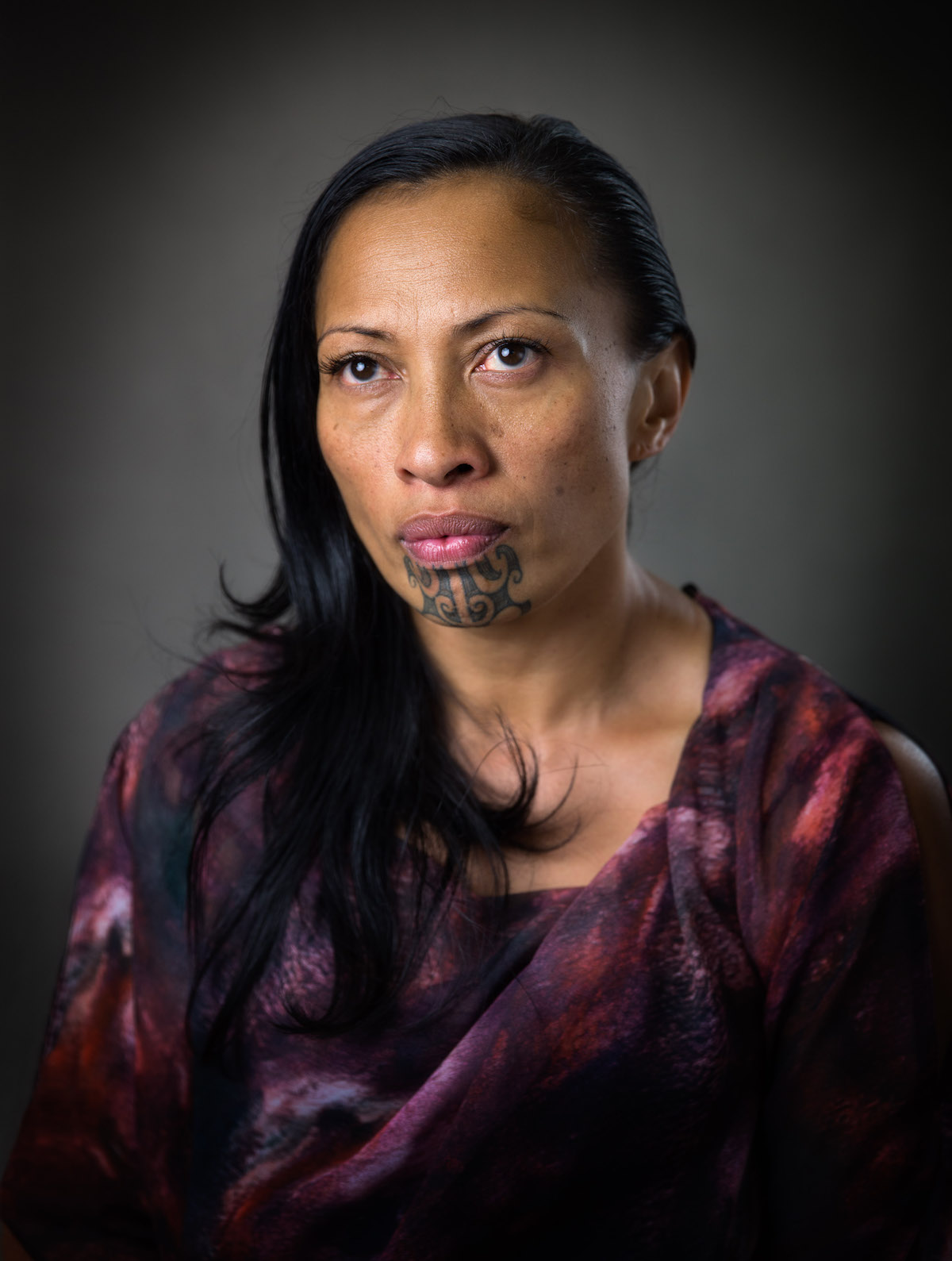 Māori Portrait Photography by Michael Bradley