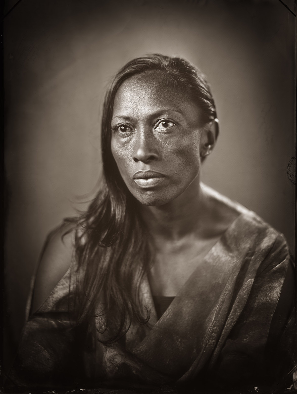Wet plate photography by Michael Bradley