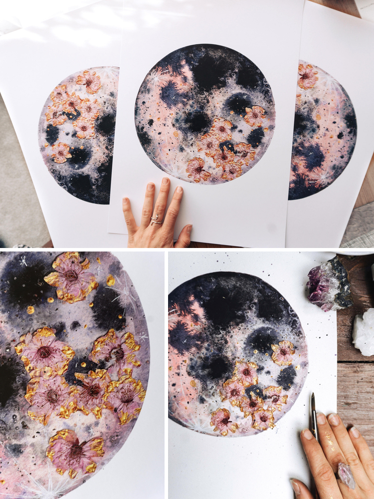 Art Inspired by the Moon