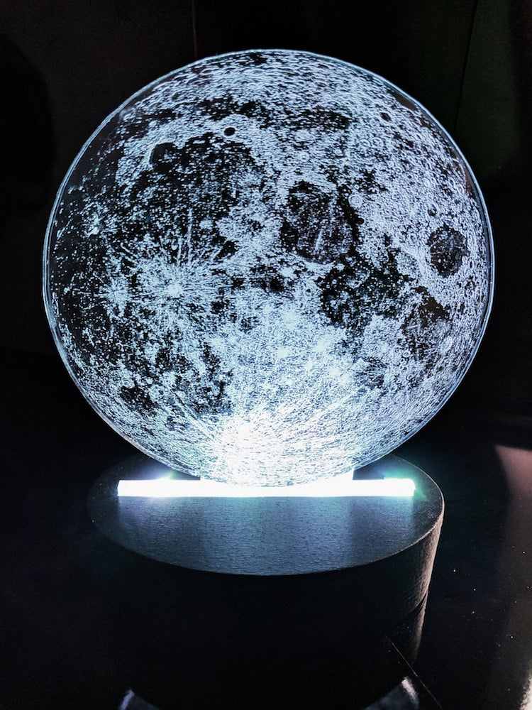 Moon Lamp by Craftypics