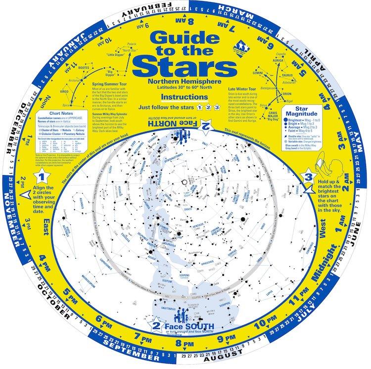 Northern Hemisphere Sky Wheel