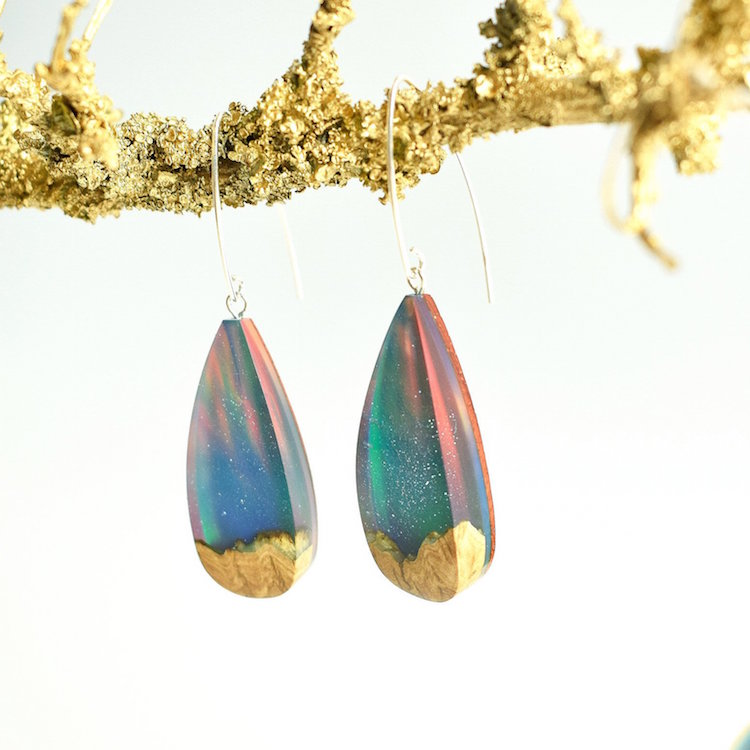 Resin Jewelry Norwegian Landscape by ArtfulResin