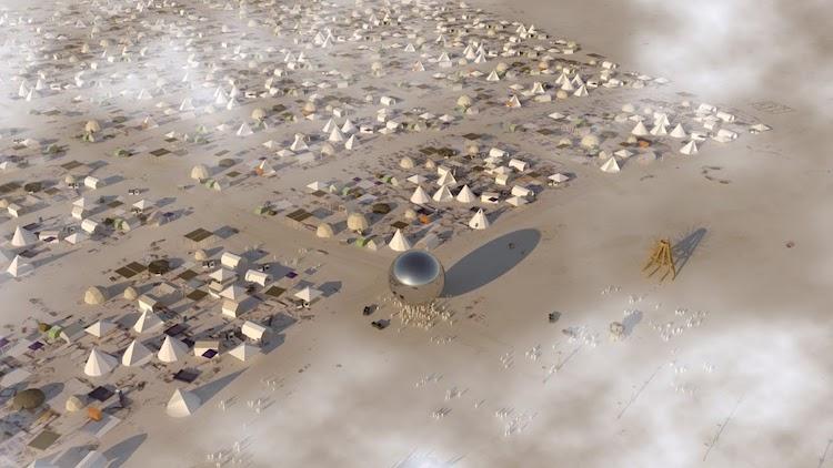The ORB Burning Man 2018 BIG Architects
