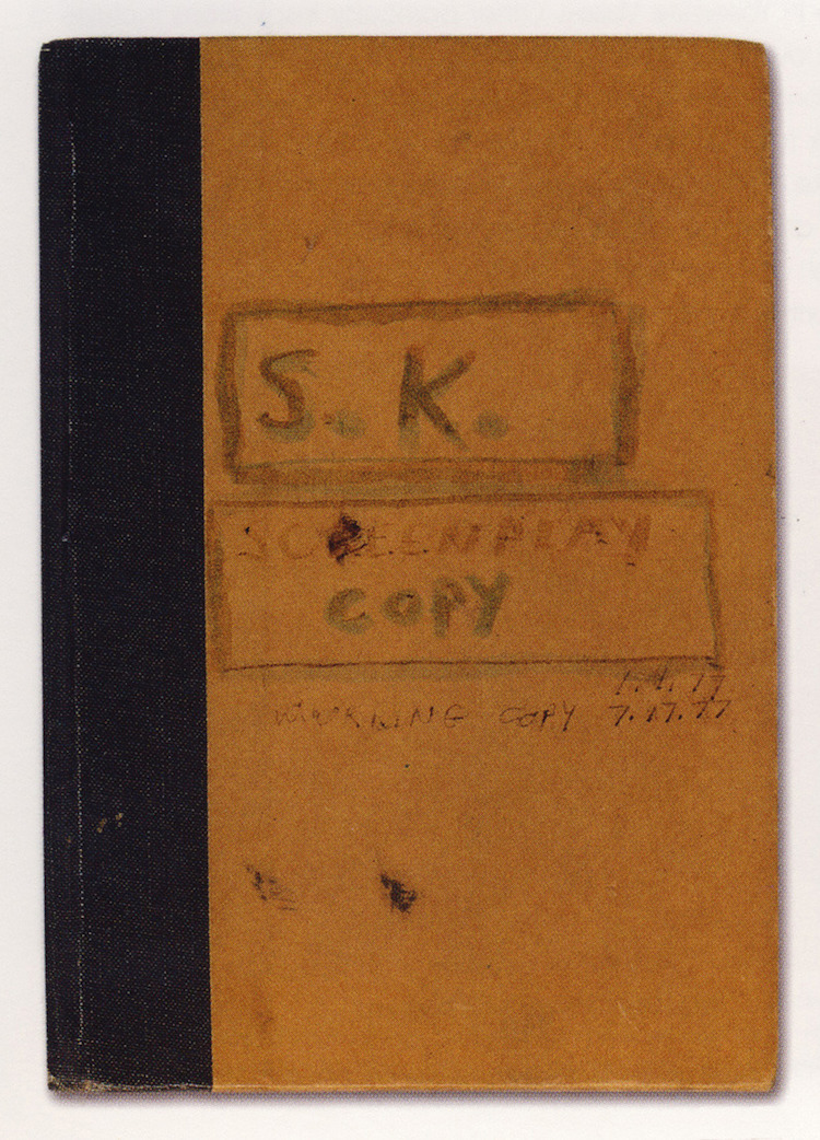 The Shining Stanley Kubrick Personal Notes
