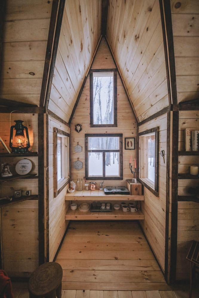Tiny Cabin Love Upstate NY Home Tour