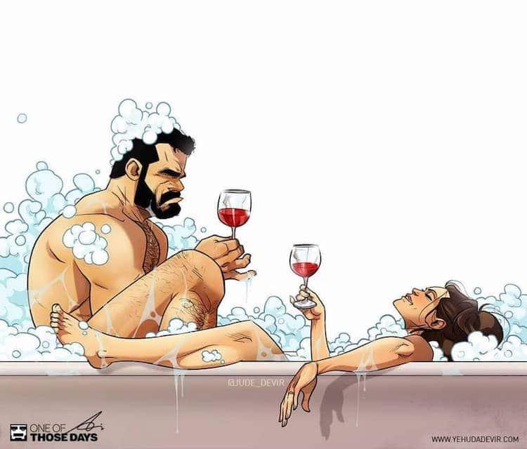 Relationship Comics by Yehuda Devir