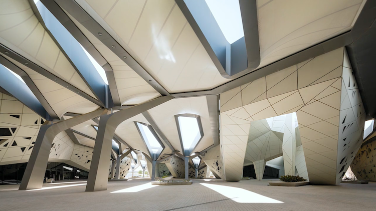 Zaha Hadid Architects - King Abdullah Petroleum Studies and Research Centre