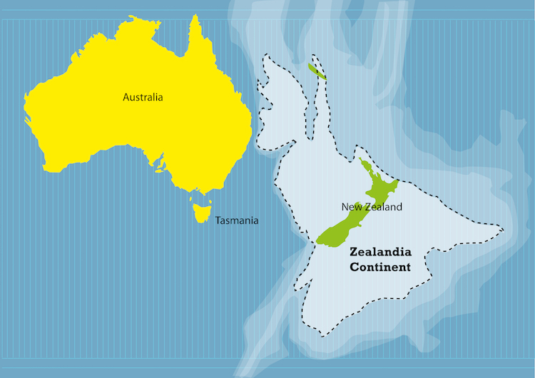 Zealandia - Hidden Continent
