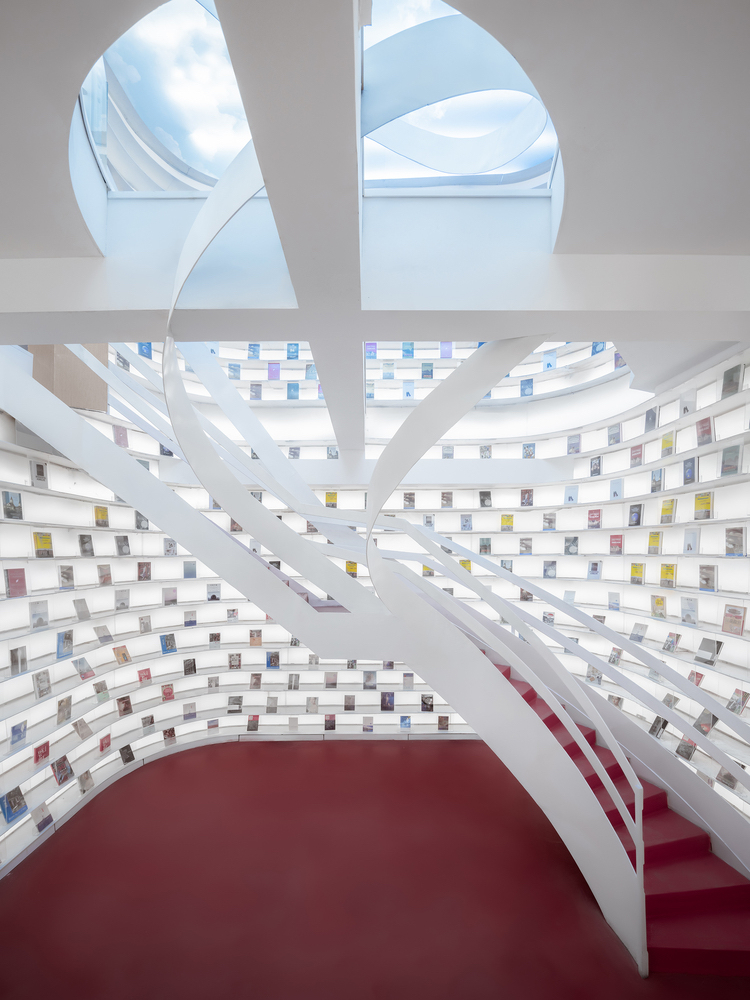 Contemporary Staircase at Zhongshu Bookstore
