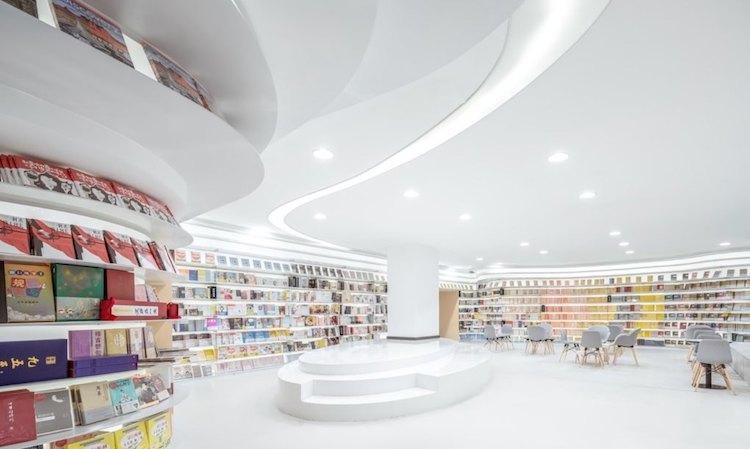 Zhongshu Bookstore Interior