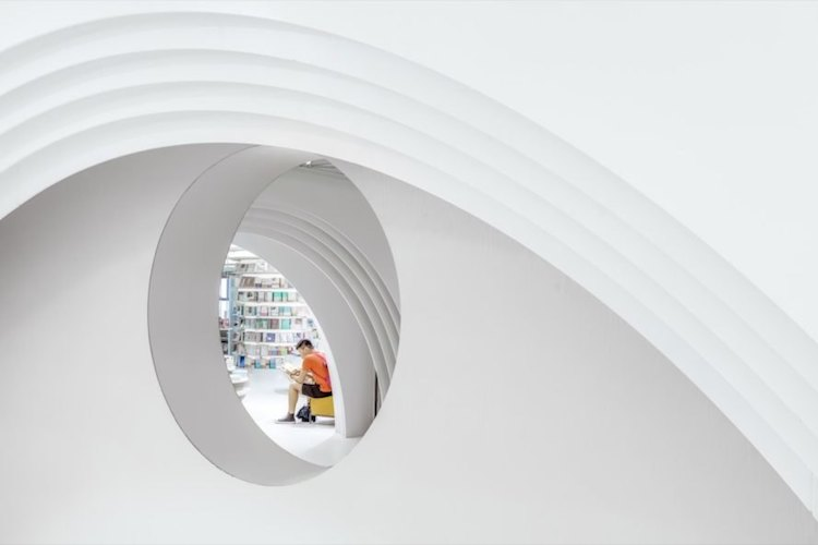 Zhongshu Bookstore in Xi'an by Wutopia Labs