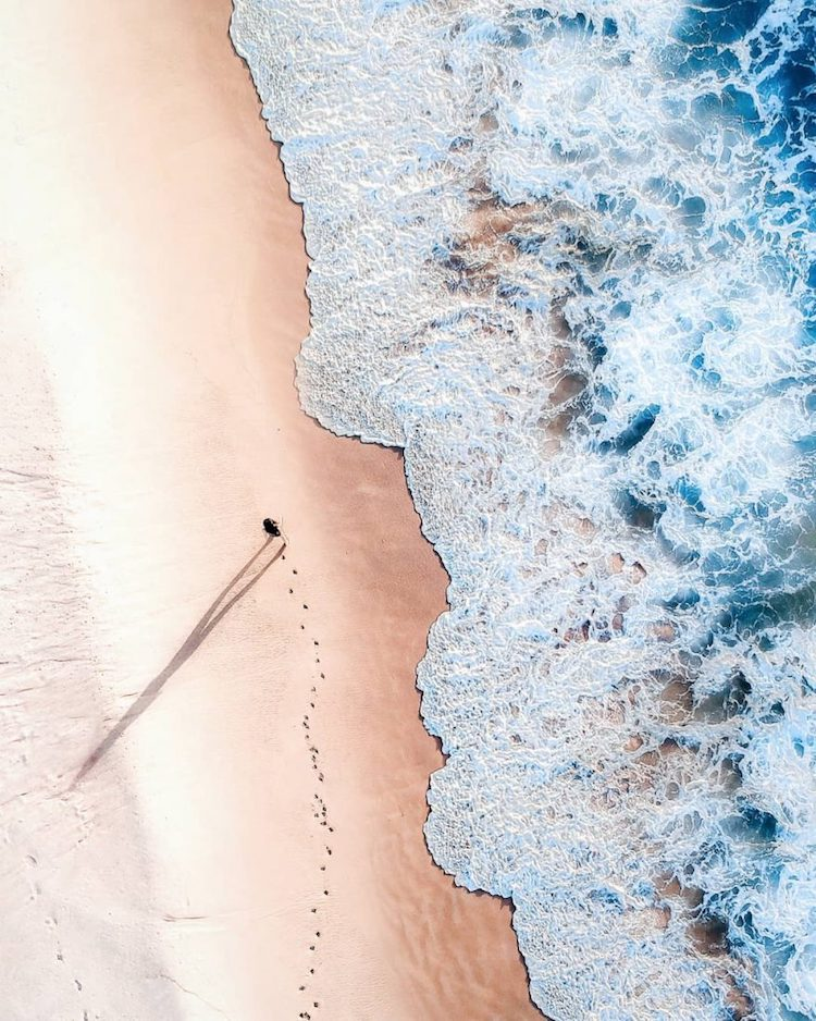 Drone Photo of the Beach