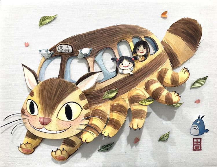 Hayao Miyazaki Art Show in Los Angeles