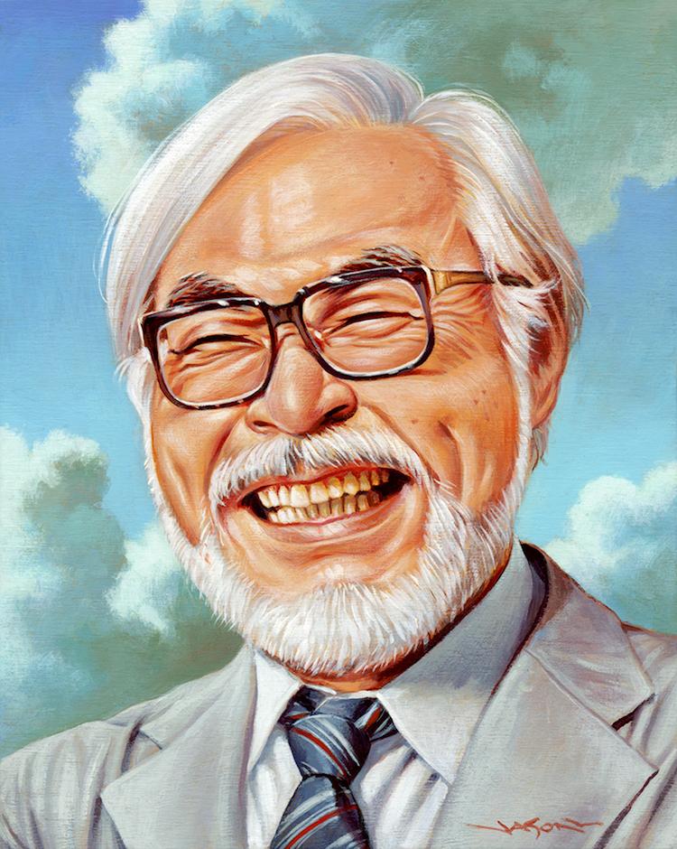 Miyazaki Art Show in Los Angeles
