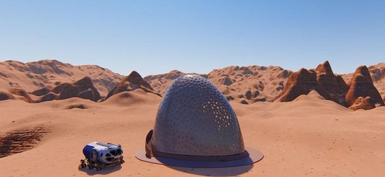 Kahn Yates 3D Printed Habitat NASA