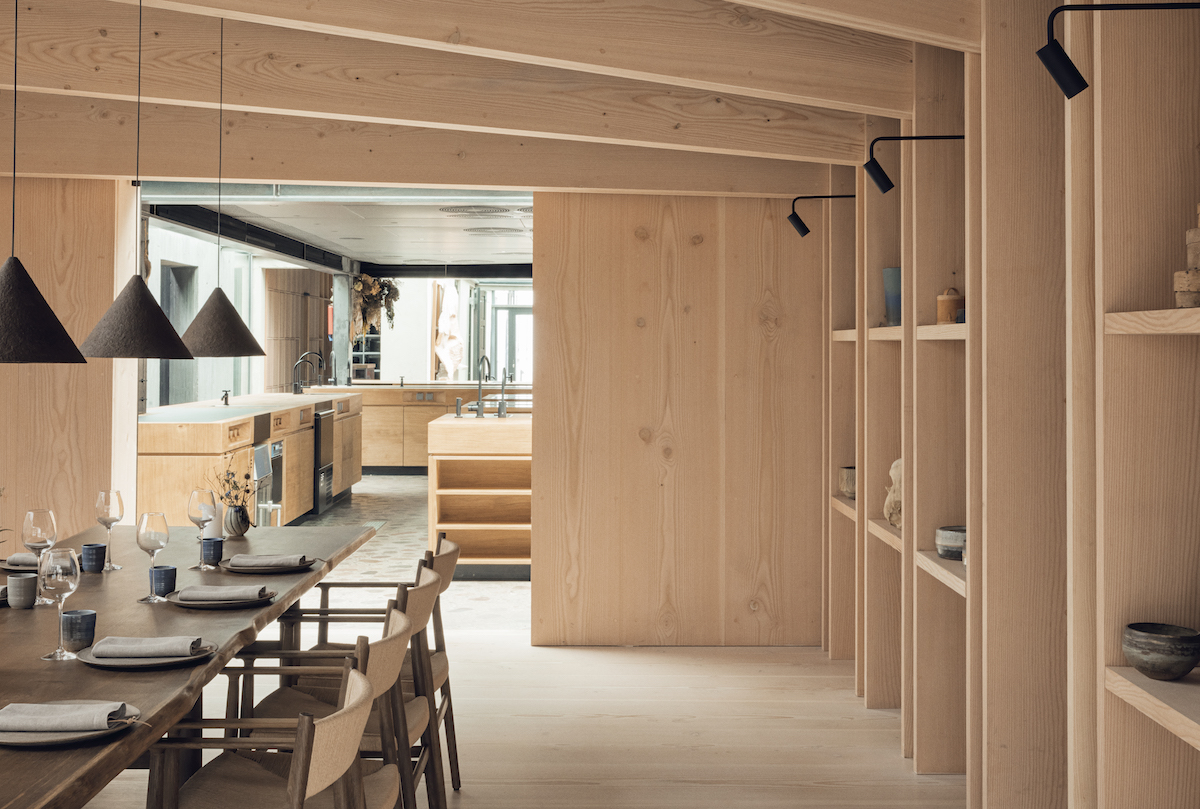 Contemporary Architecture in Noma Restaurant Copenhagen