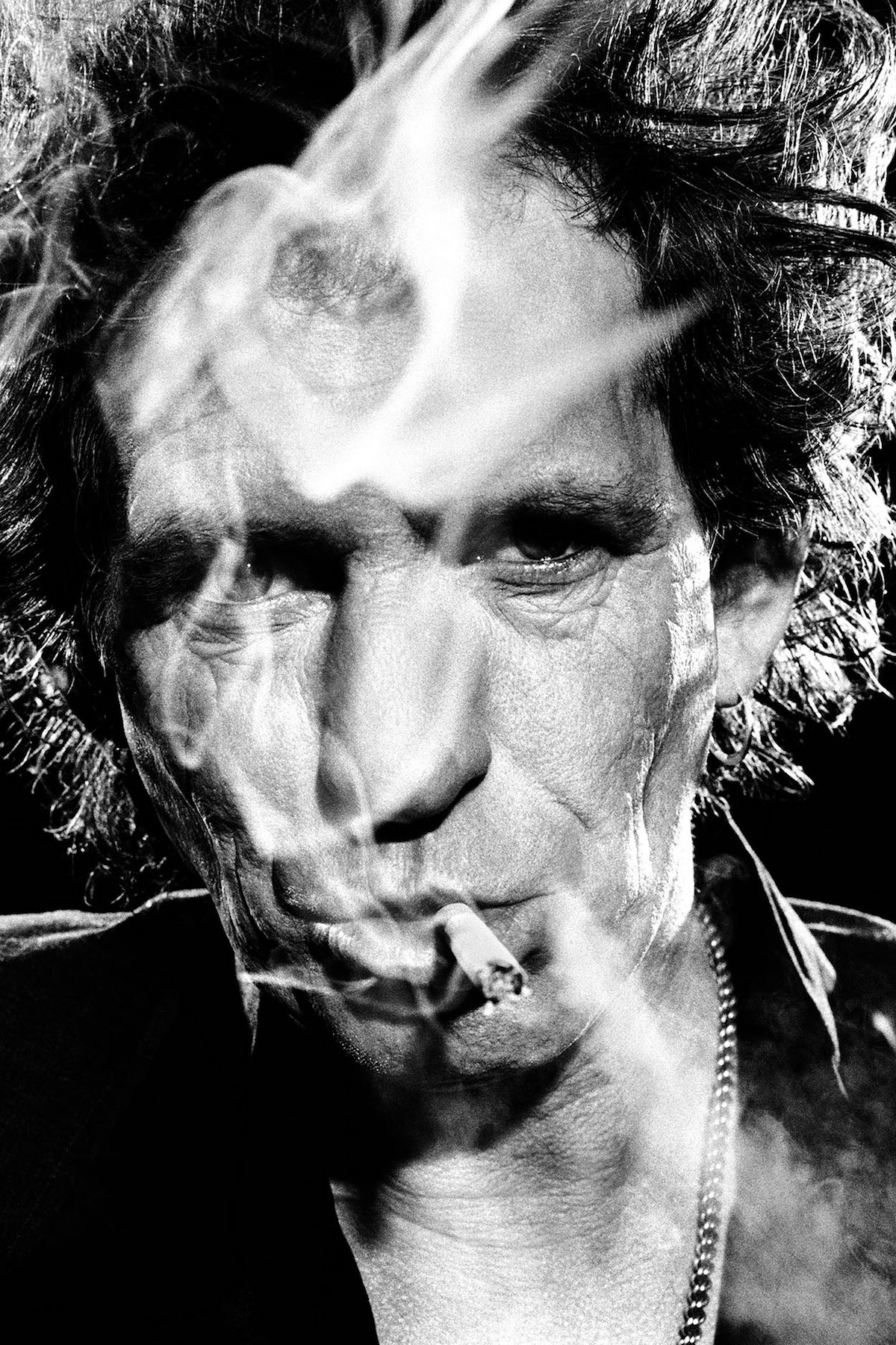 Keith Richards by Stephanie Pfriender Stylander