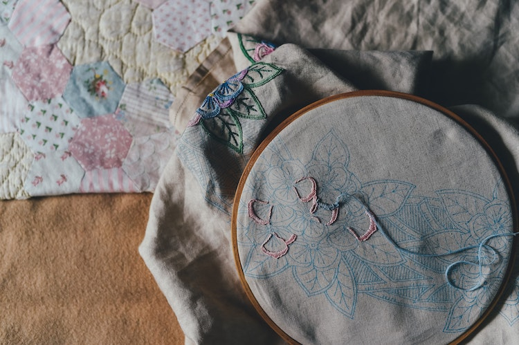 Learn the history of appliqué and how to create your own fabric art