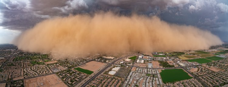 Dust Storm in Arizona by Jerry Ferguson