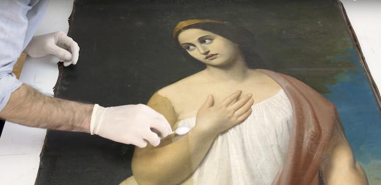 Art Restoration Video Julian Baumgartner Fine Art Restoration Painting Restoration