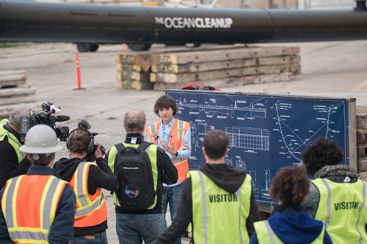 Boyan Slat - The Ocean Cleanup