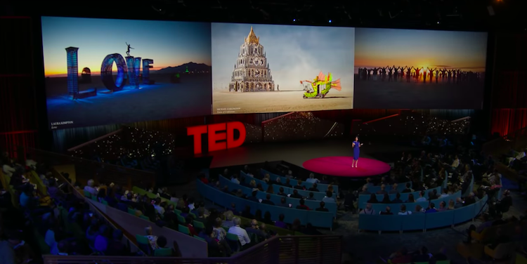 Burning Man TED Talk - Nora Atkinson