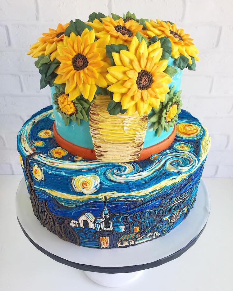 Cake Art Buttercream Frosting Leslie Vigil