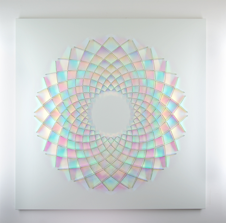 Dichroic Installations by Chris Wood