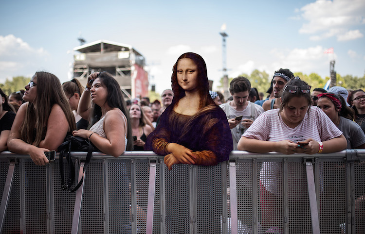 Classical Paintings at Music Festivals by Márton Neményi