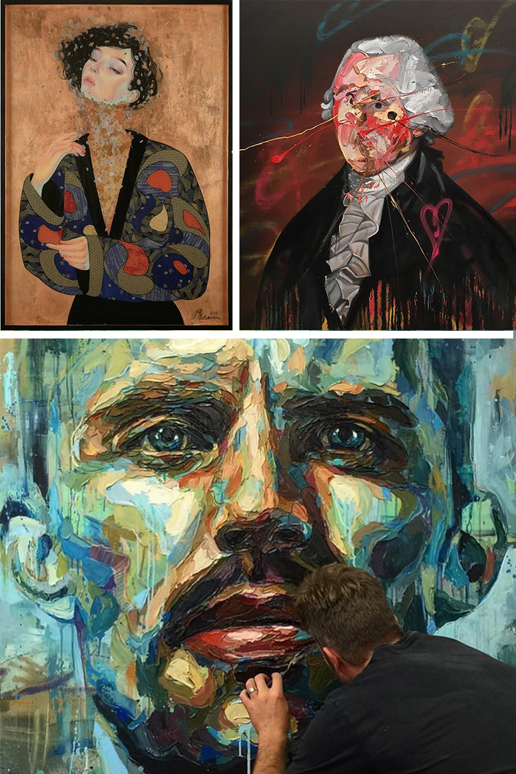 Contemporary Portrait Artists