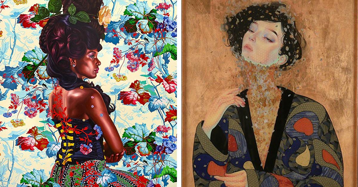 Masters of modern Indonesian portraiture, National ... |Modern Portrait Artists