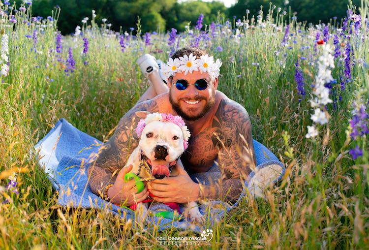 Dad Bods Rescue Dogs Calendar by Ricki Beason