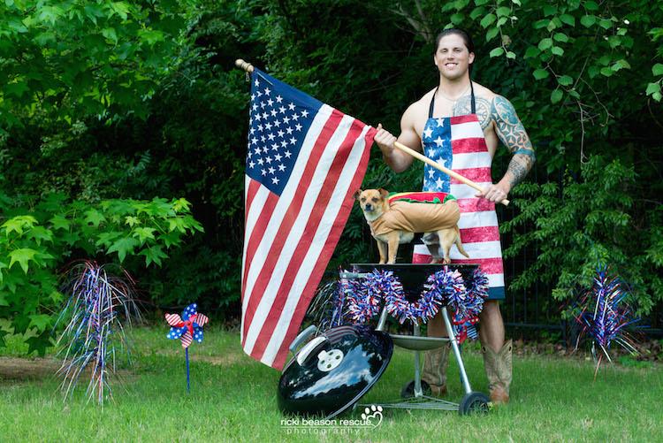 Dad Bods Rescue Dogs Calendar by Ricki Beason