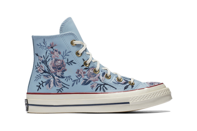 ba7655377449 Floral Embroidered Sneakers by Converse Floral Embroidered Sneakers by  Converse ...