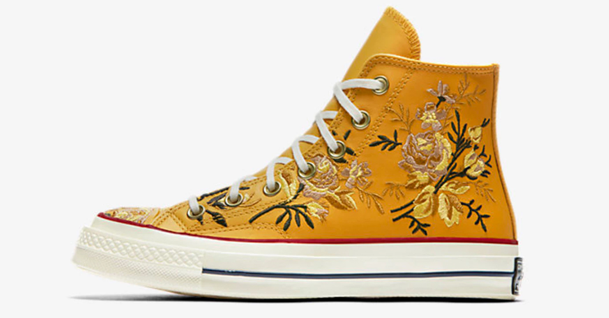 converse shoes embroidered