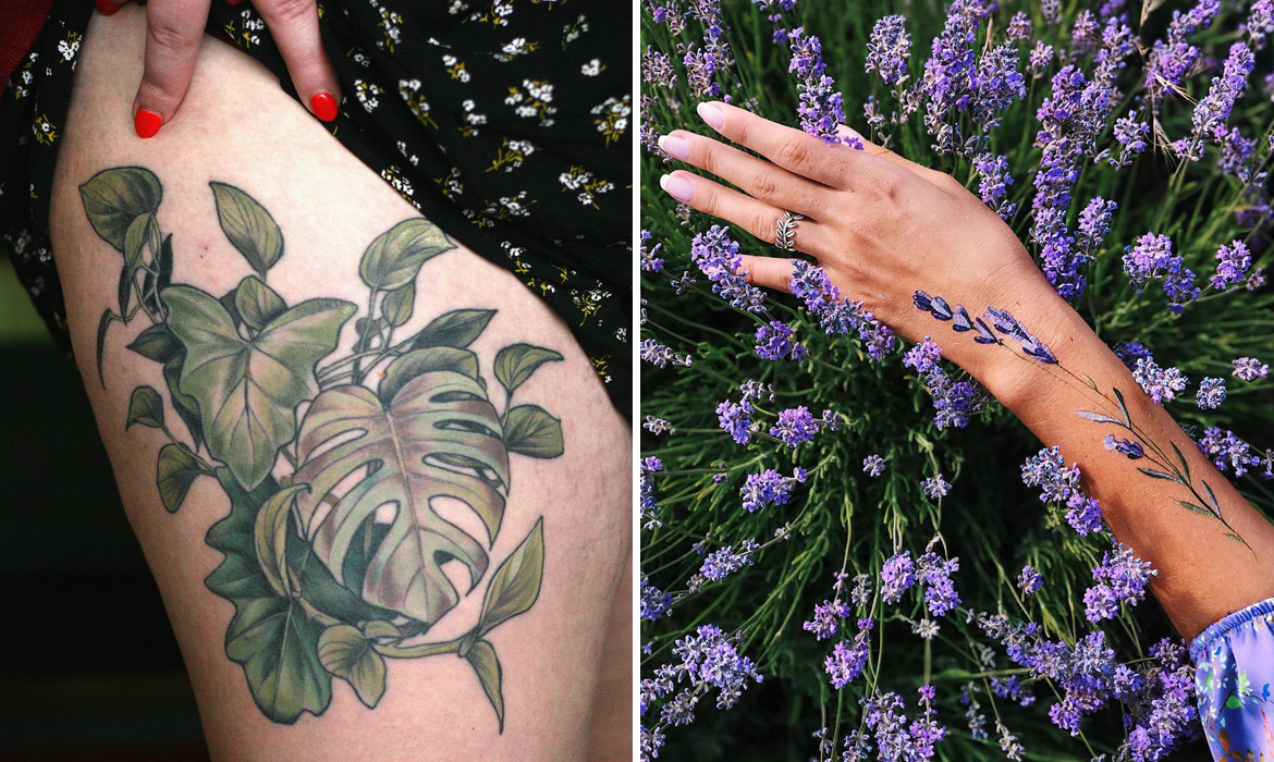 35 Flower Tattoos Showing The Varied Beauty Of Botanicals