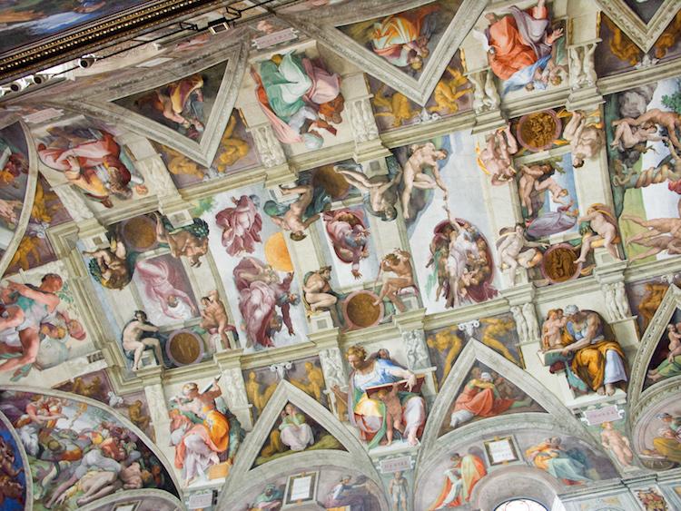 Fresco de la capilla sixtina