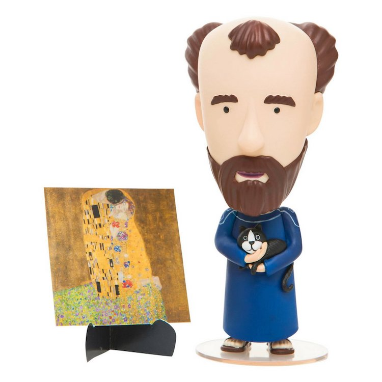 Gustav Klimt Action Figure Today is Art Day Art History Heroes