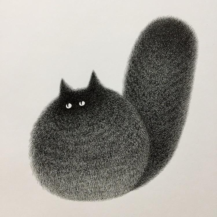 Cute Cat Drawing