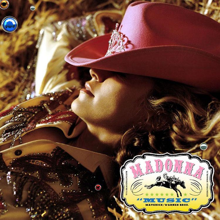 Madonna Album Cover Recreations by Vincent Flouret